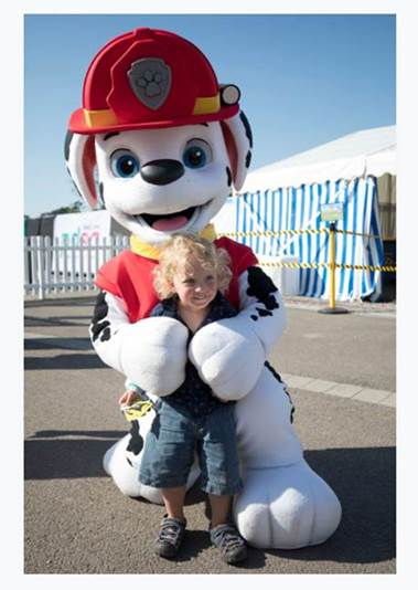 Children's Favourite TV Pups Celebrate Real-Life Little Heroes
