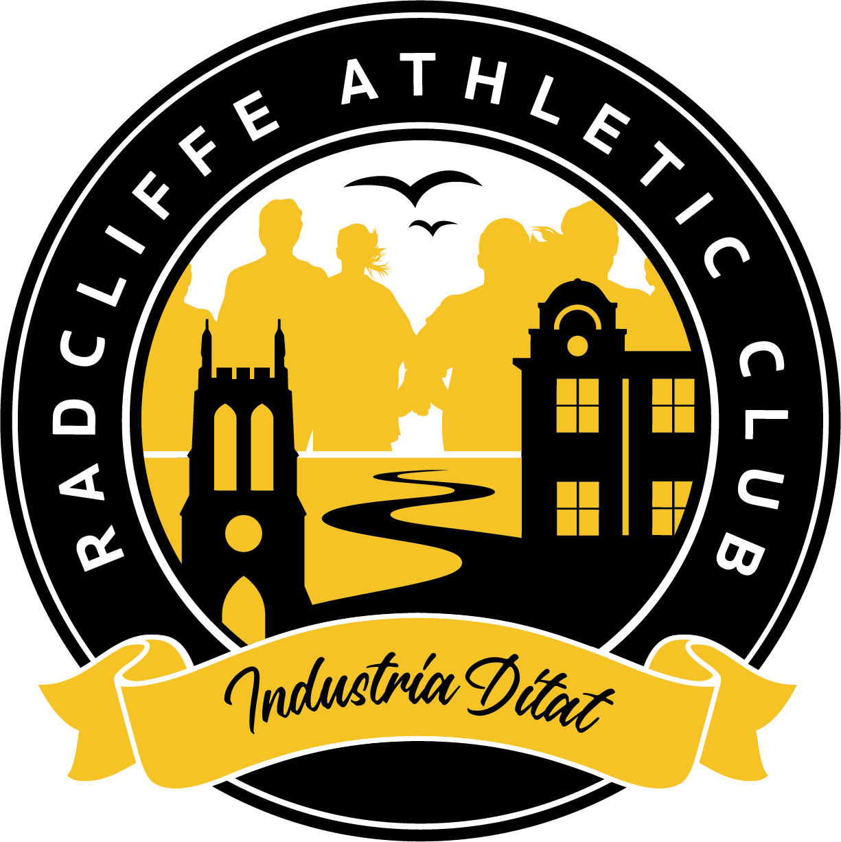 Radcliffe AC unveils new club badge
