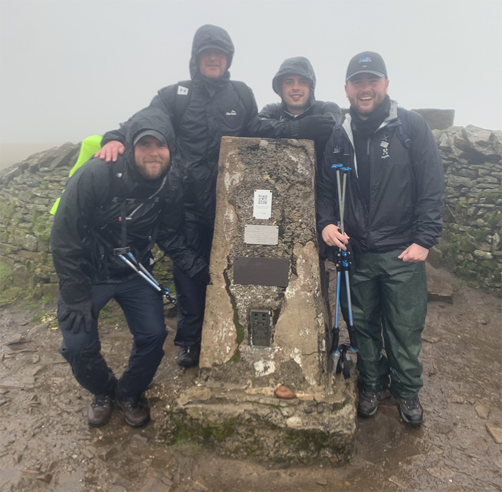 Two brothers from Horwich conquered the Yorkshire Three Peaks Challenge