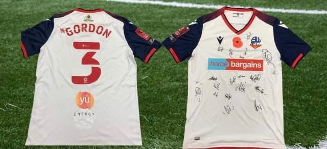 BWFC SIGNED POPPY SHIRT UP FOR GRABS IN CHARITY AUCTION FOR VETERANS