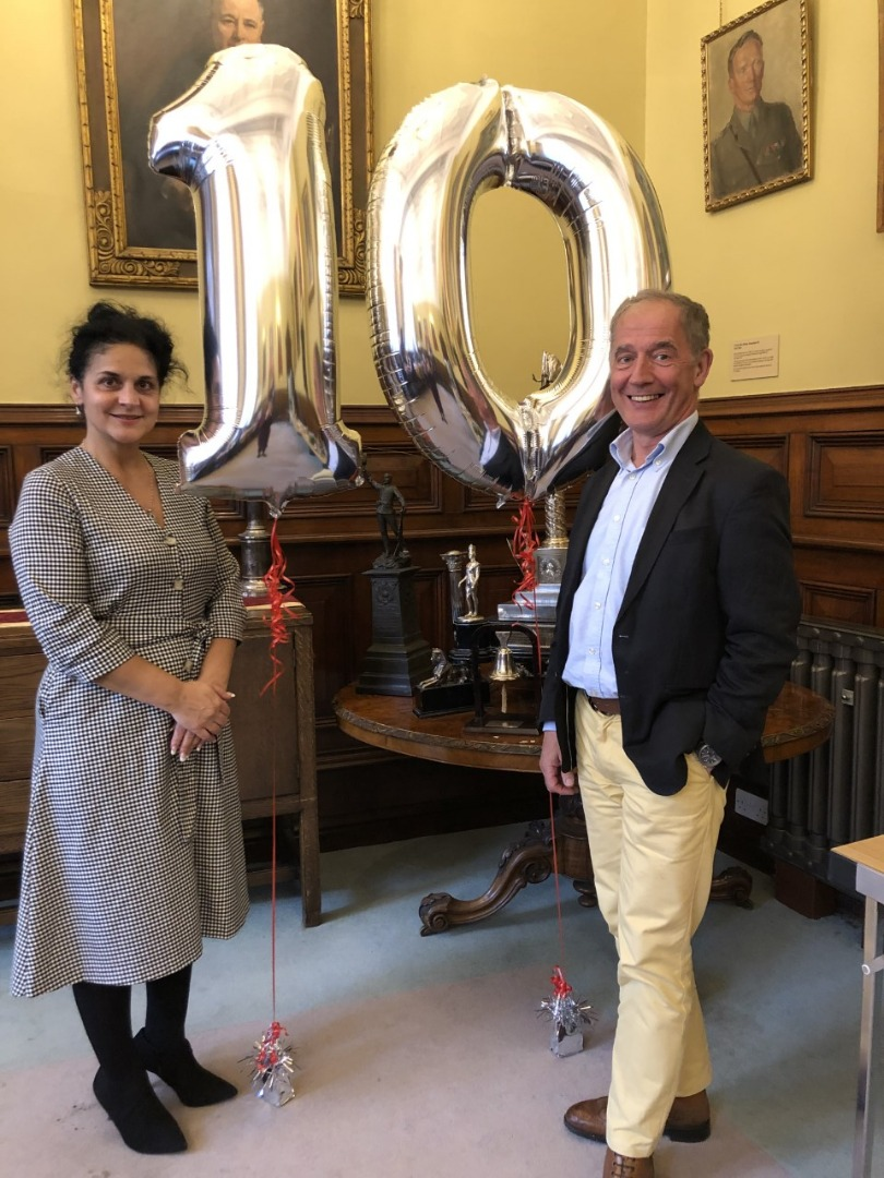 The Fusilier Museum celebrates its 10th birthday