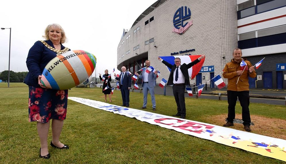 France 'arrivée' in Bolton for Rugby League World Cup