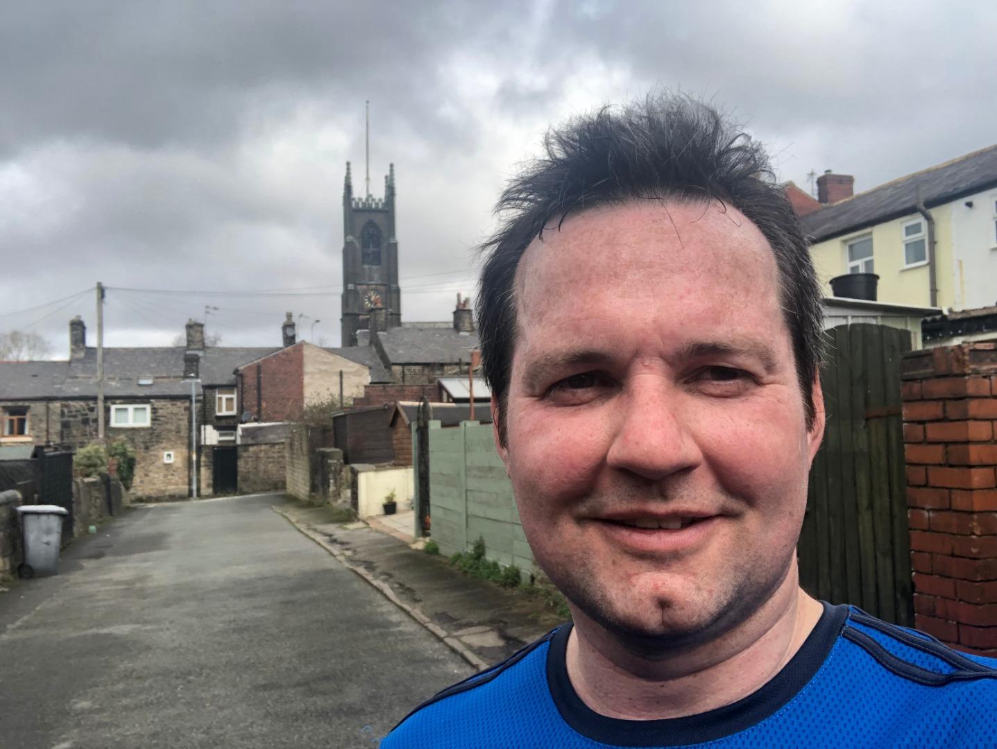 MP prepares for Rivington Pike Half Marathon