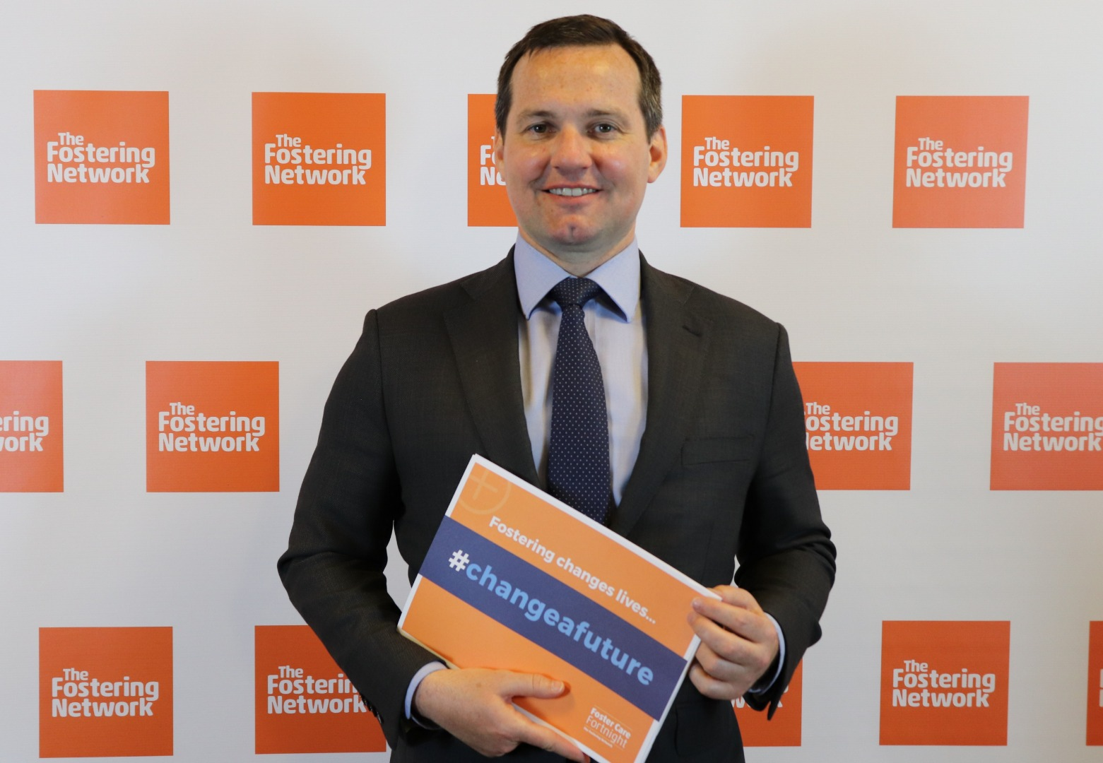 MP shows his support for Foster Care Fortnight