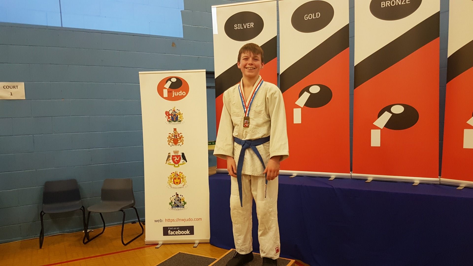 Jamie Strikes Judo Gold