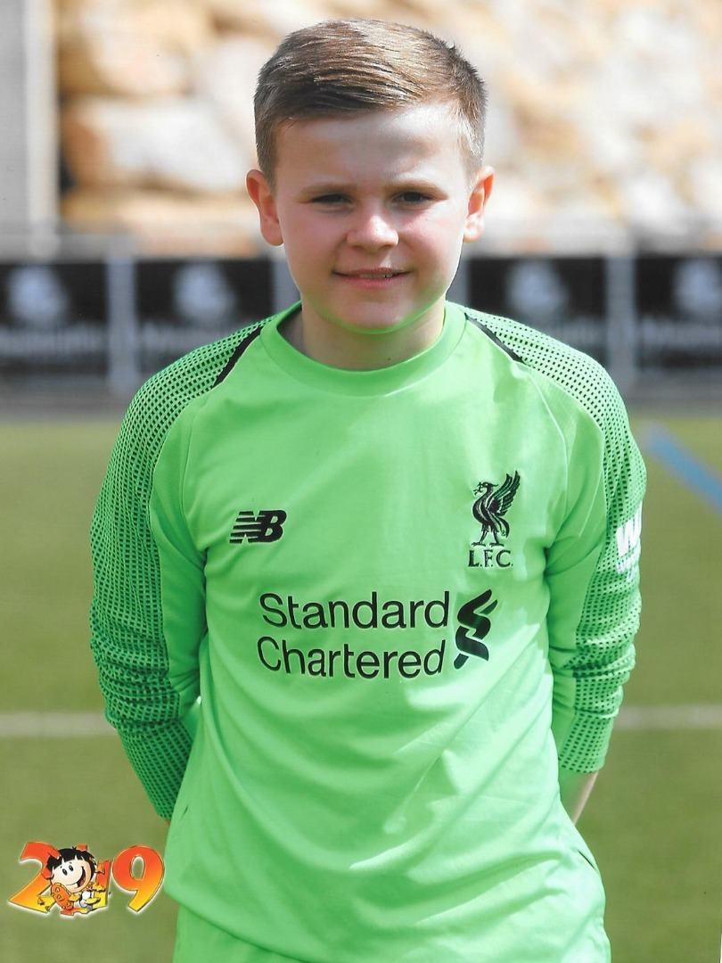 Ben Enjoys Success with Liverpool FC