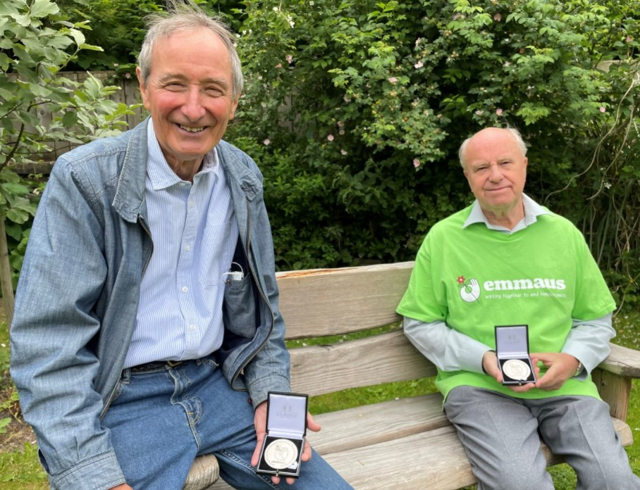 Bolton charity founders receive special medals