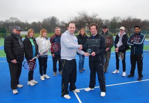 Bury coach nets national tennis award
