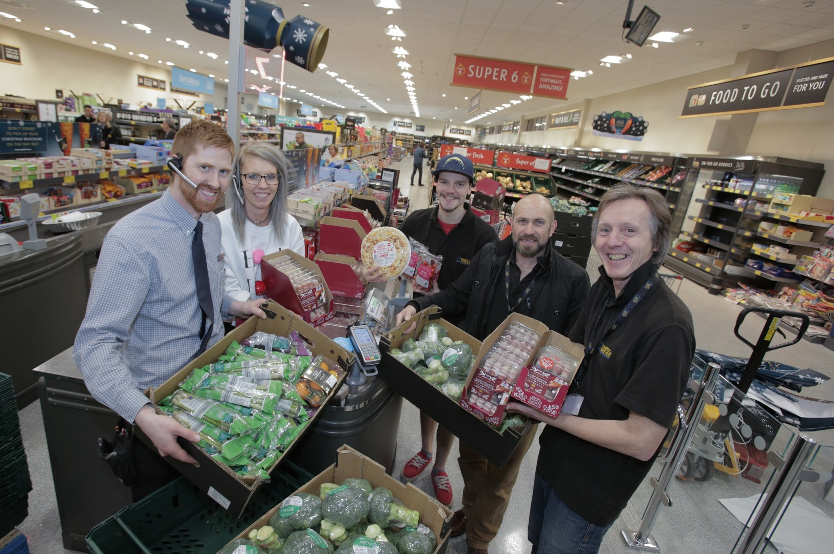 ALDI'S HORWICH AND WESTHOUGHTON STORES PARTNER WITH LOCAL CHARITIES