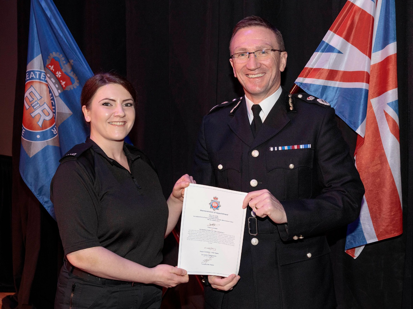 GMP welcomes highest intake of female officers to date