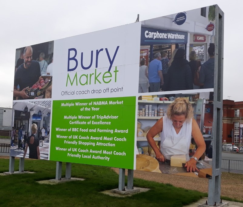 Bury Market achieves record number of coach visits in 2019!