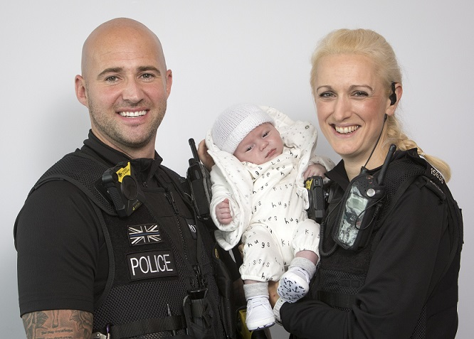GMP officers help save the life of a newborn baby