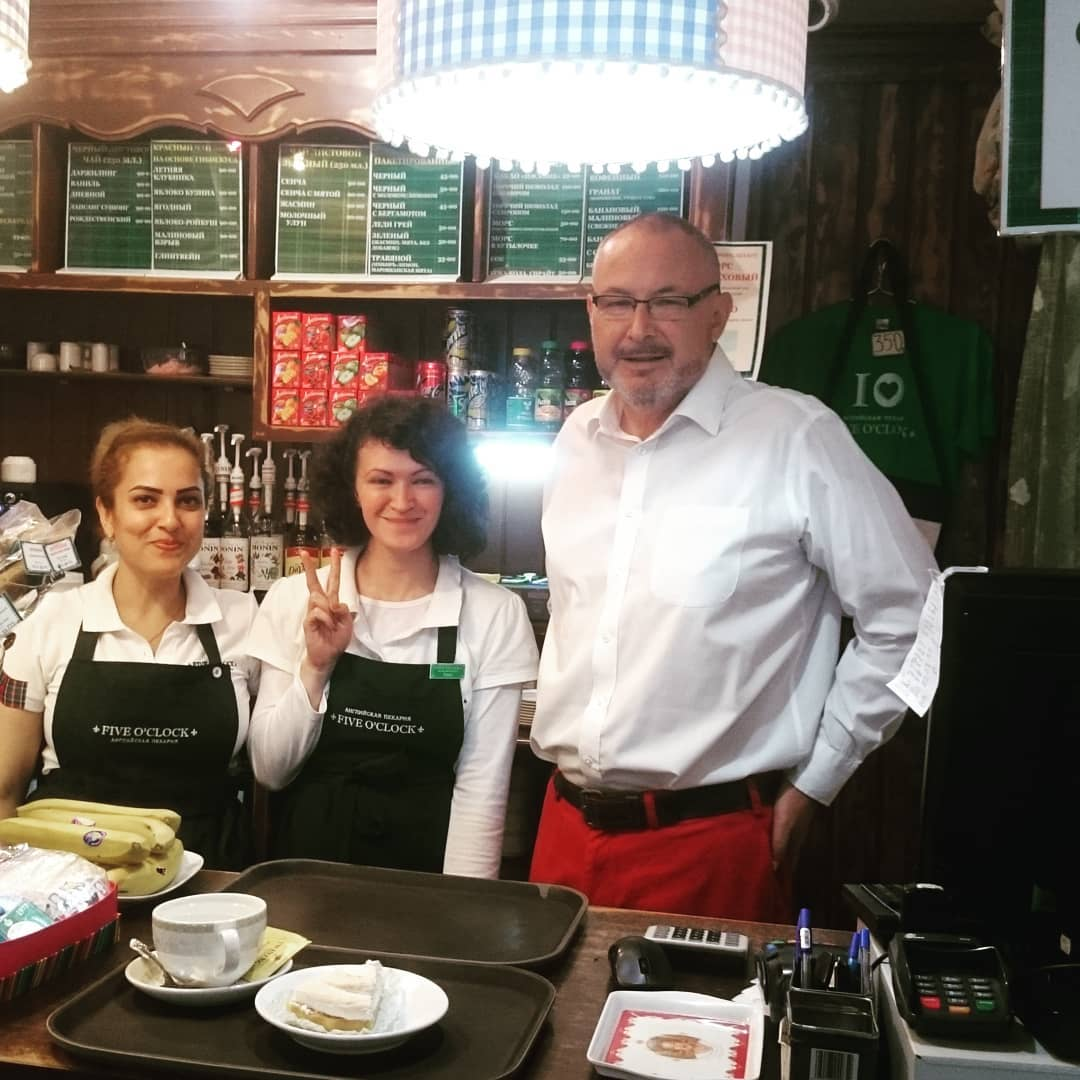 From Bolton to Russia - story of a Vladivostok tearoom