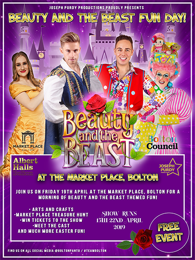 Meet the Cast of Bolton's Beauty and the Beast at Market Place