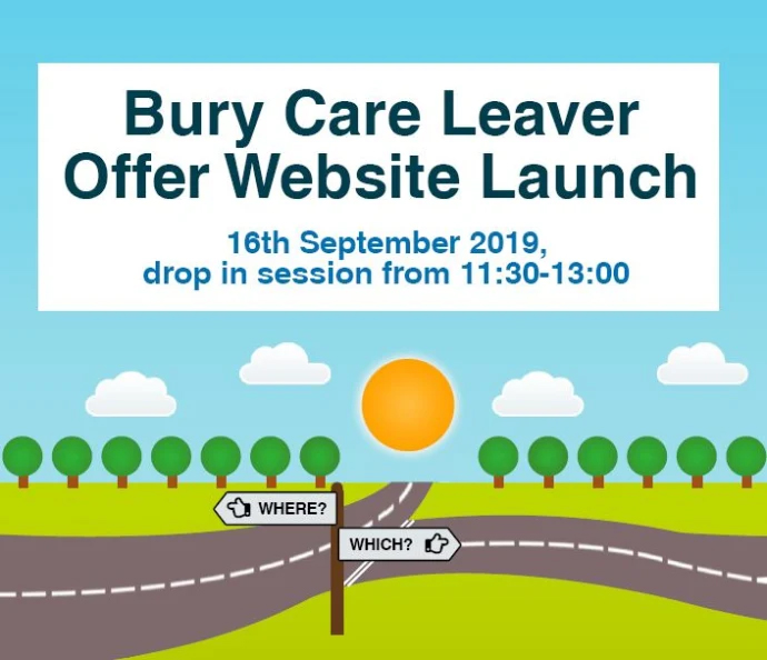 Launch of new online support to help young care leavers