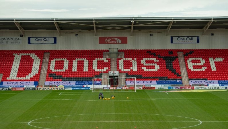 Ticket information regarding BWFC's Doncaster Rovers away game