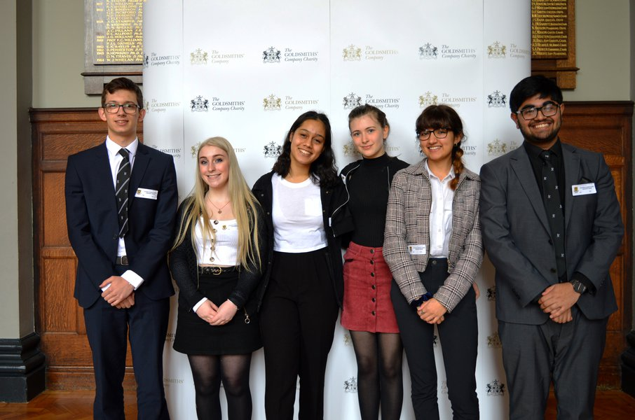 School Reaches the Final of the Goldsmiths