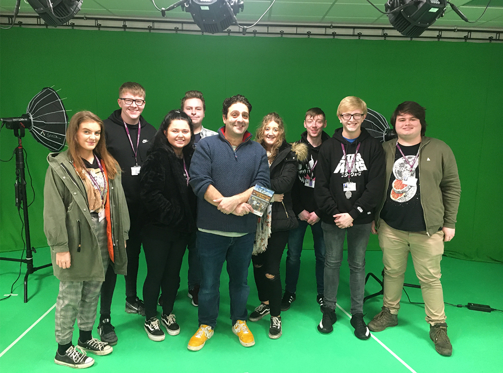 Award-winning film director inspires HND Media students