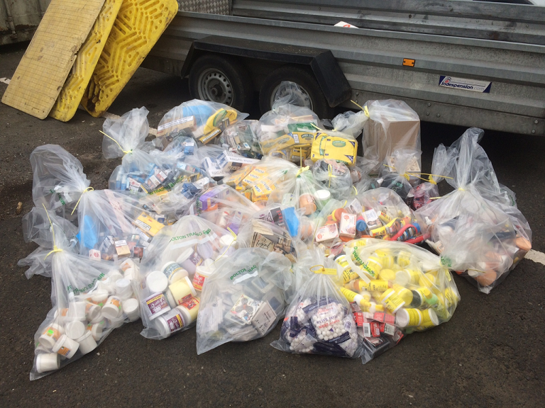 Town centre crackdown yields impressive results