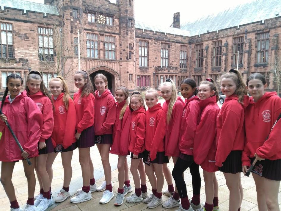 Girls Make the Lancashire Lacrosse Cut
