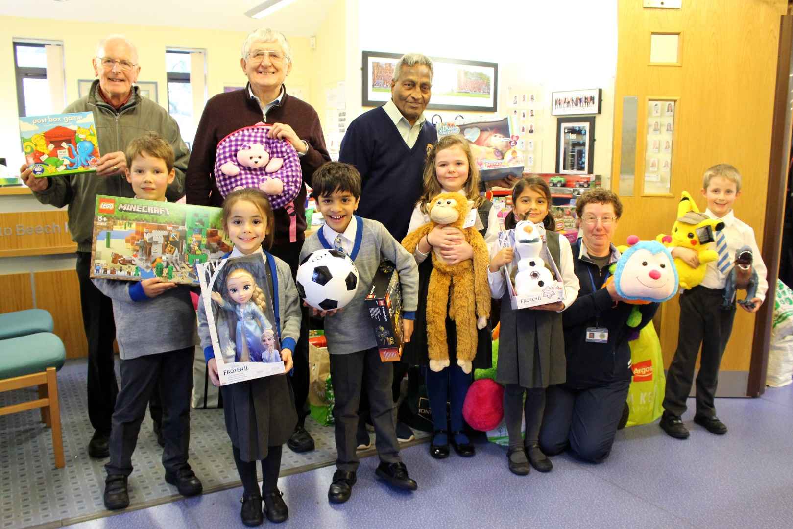 Local Children Benefit from Beech House Toy Collection