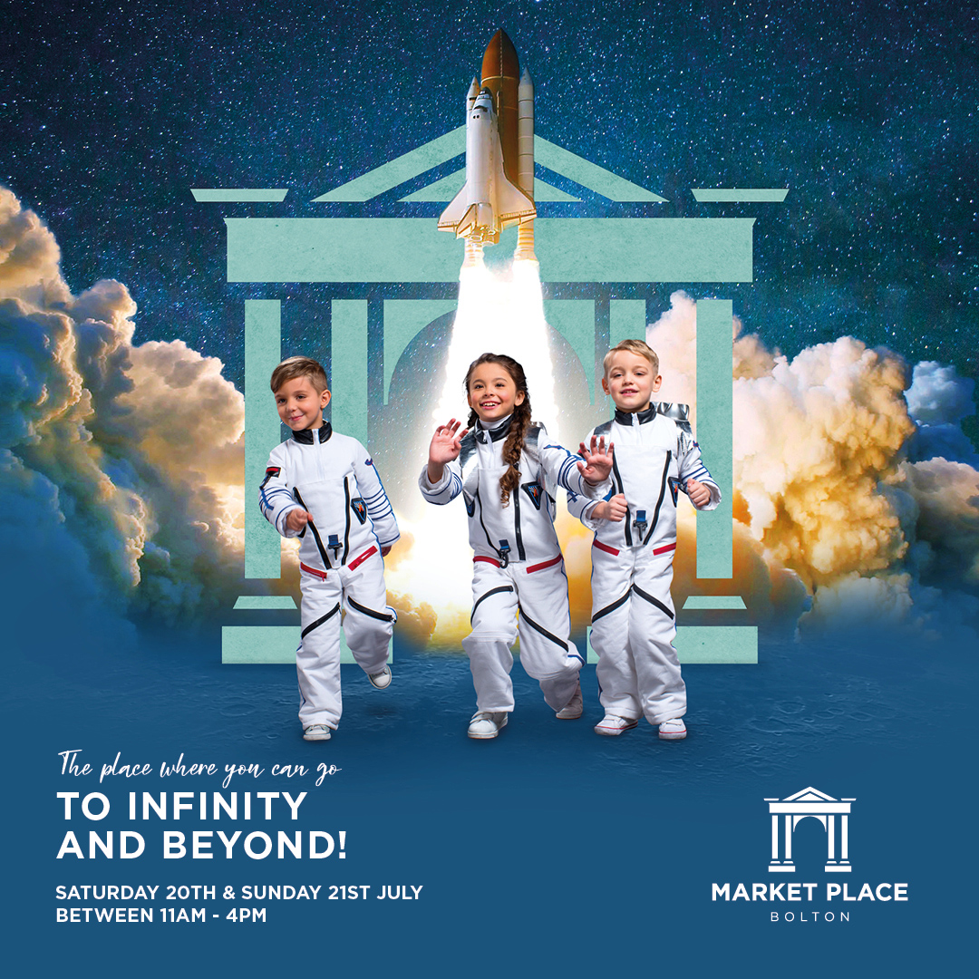 Go to Infinity and Beyond at Market Place's FREE Family Event