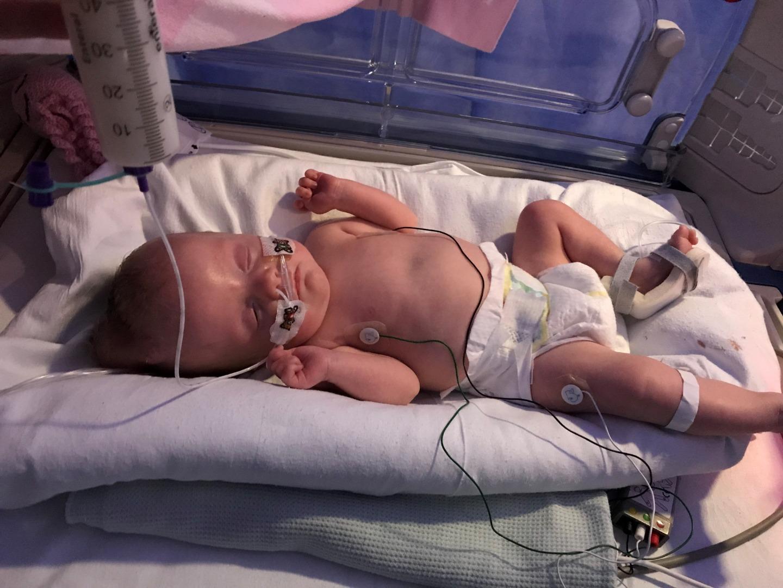 Bury mum hopes meningitis baby will be home for Christmas