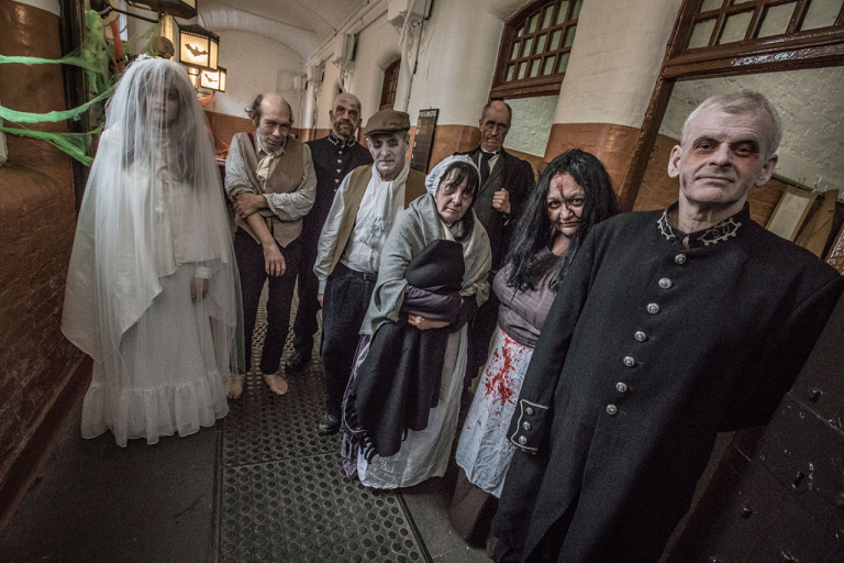 GMP Museum visitors get a haunting Halloween experience