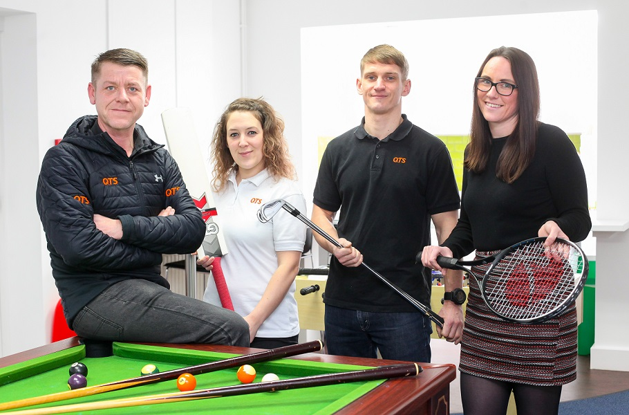 QTS Youth Athlete programme to support English sport stars