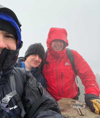 Bolton colleagues help by taking part in charity hike