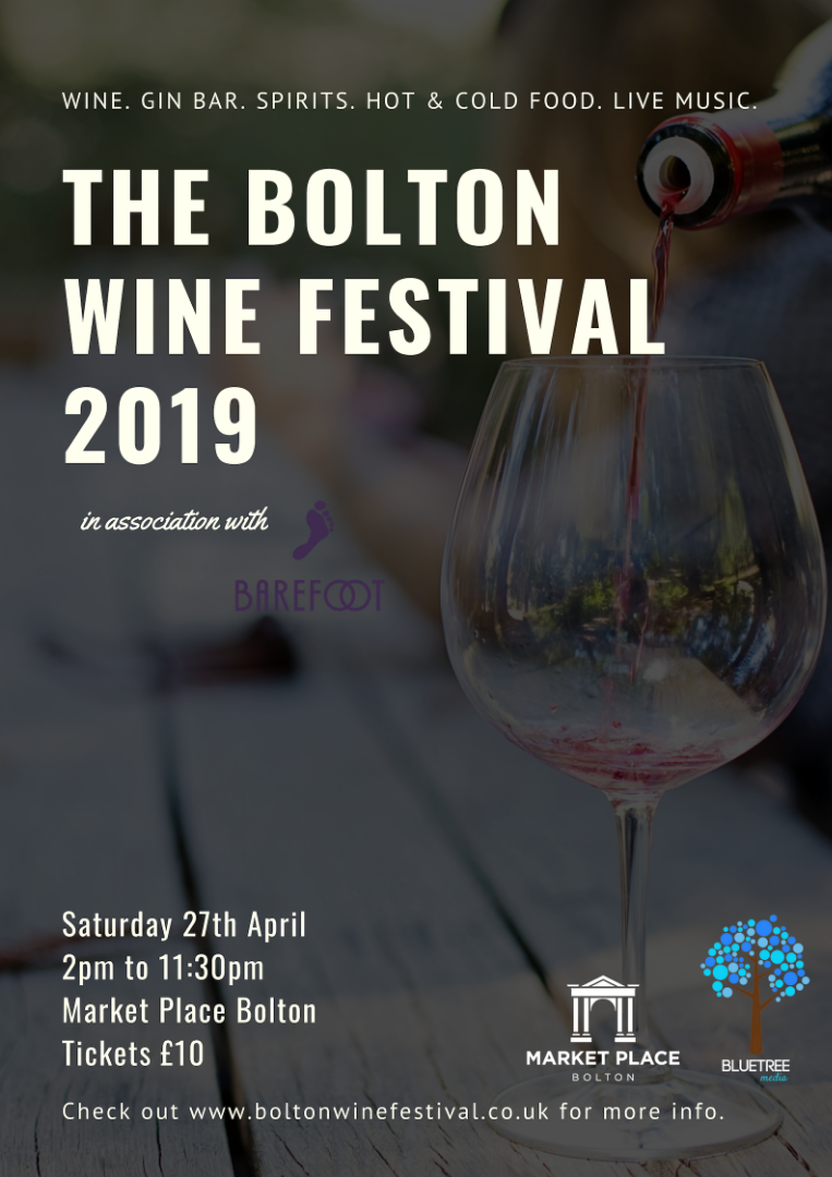 Bolton Wine Festival is Back at Market Place