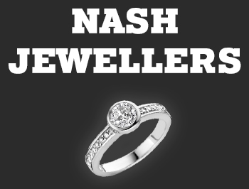 Nash Jewellers logo, click it to show the offer