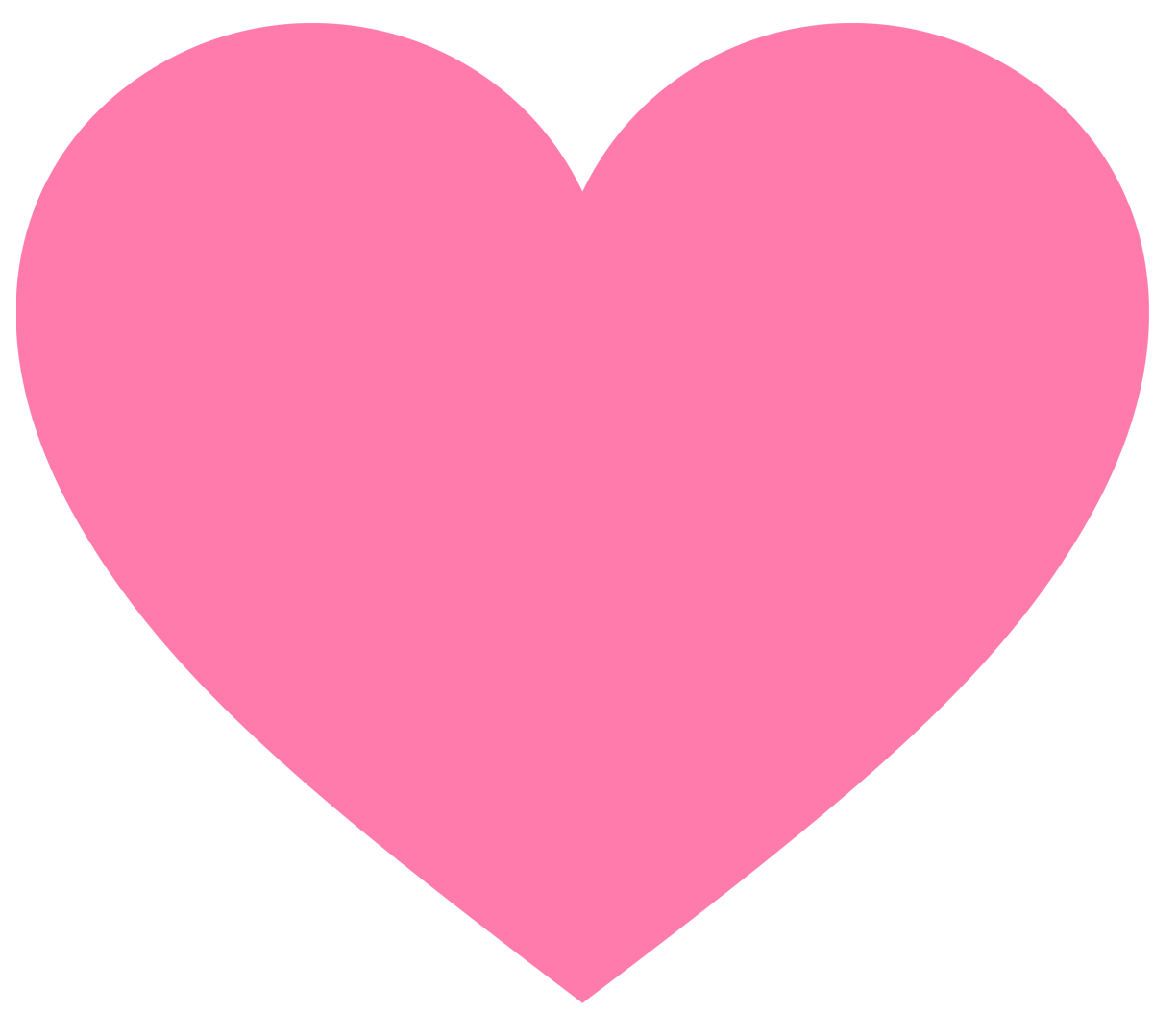 An image of a heart, click it to show the offer
