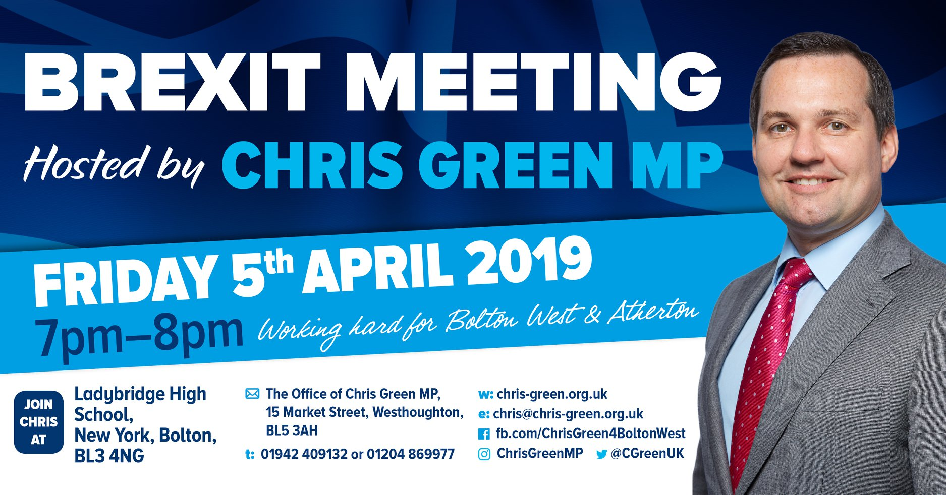 Brexit meeting scheduled for April