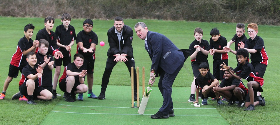Council stumps up for new cricket pitches
