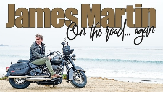 James Martin is on the road again