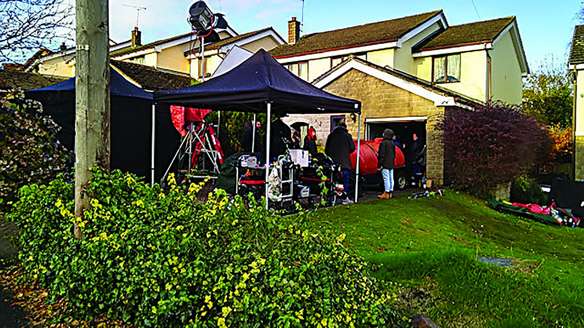 Channel Four films new series in Norden