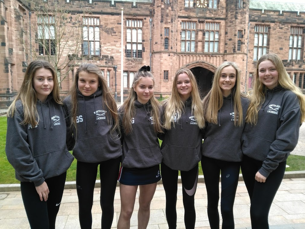 Girls Selected for North East Super Counties Lax Squad