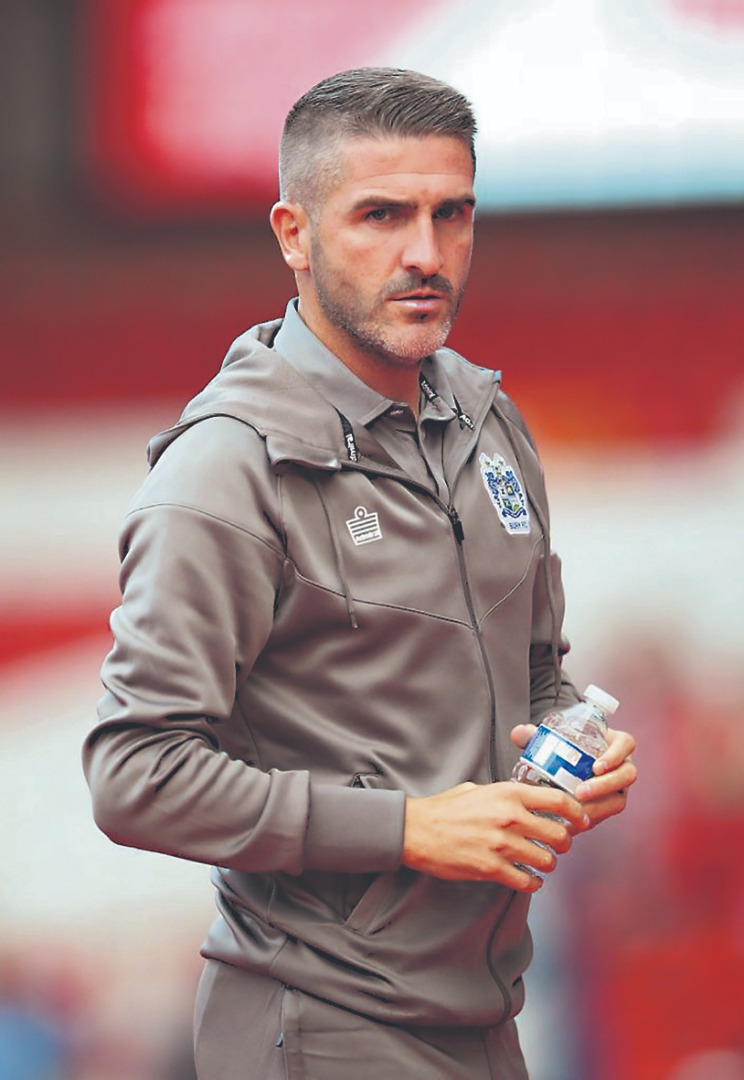 RYAN Lowe has left Bury to become the new manager of Plymouth Argyle