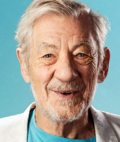 Ian McKellen on stage with Tolkien, Shakespeare, others and you!