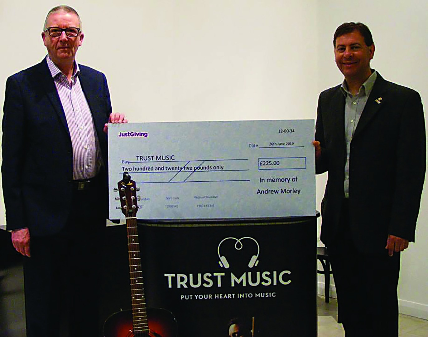 Local councillor and musician remembered