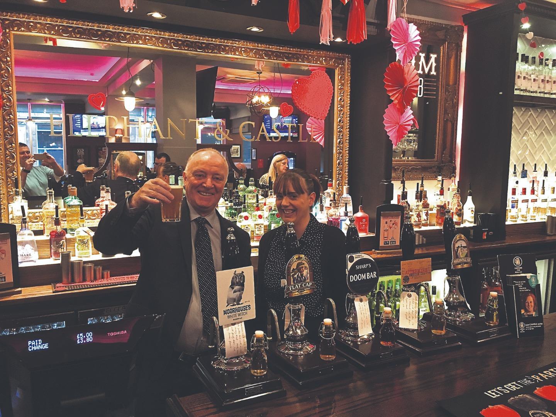 MP visits revamped pub