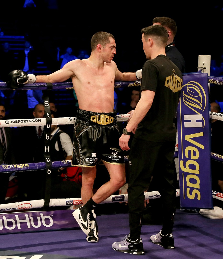 Quigg calls time on career after defeat