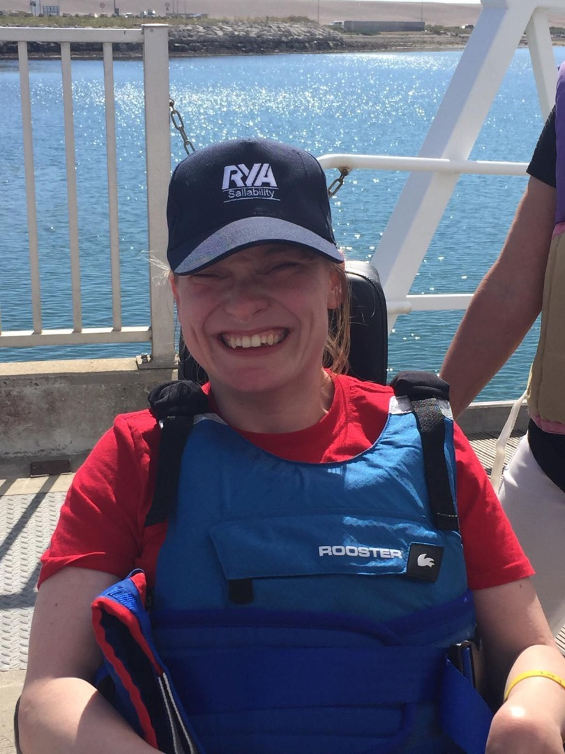 'For the first time in my life I felt free of my disability