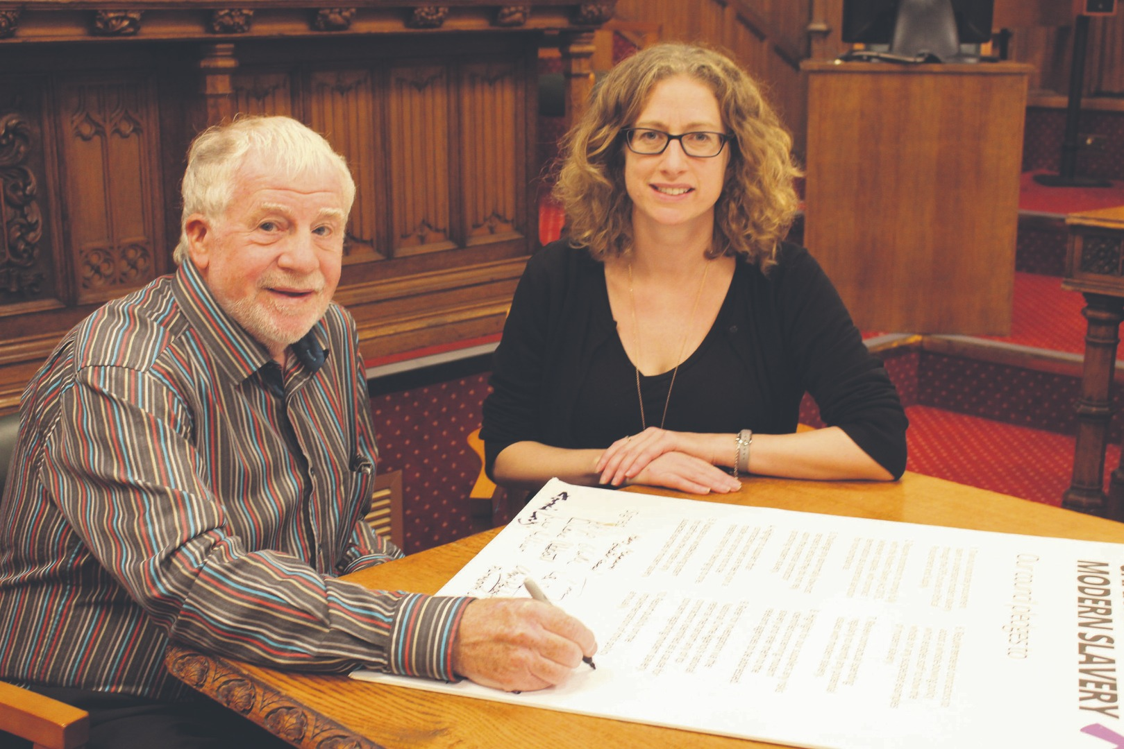 Council signs up to modern slavery campaign