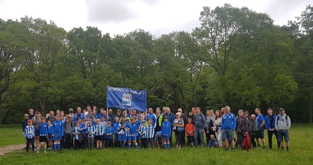 Sponsored walk held by Horwich RMI JFC