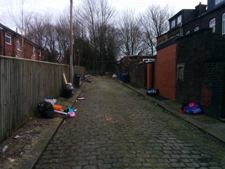 Fined for fly-tipping