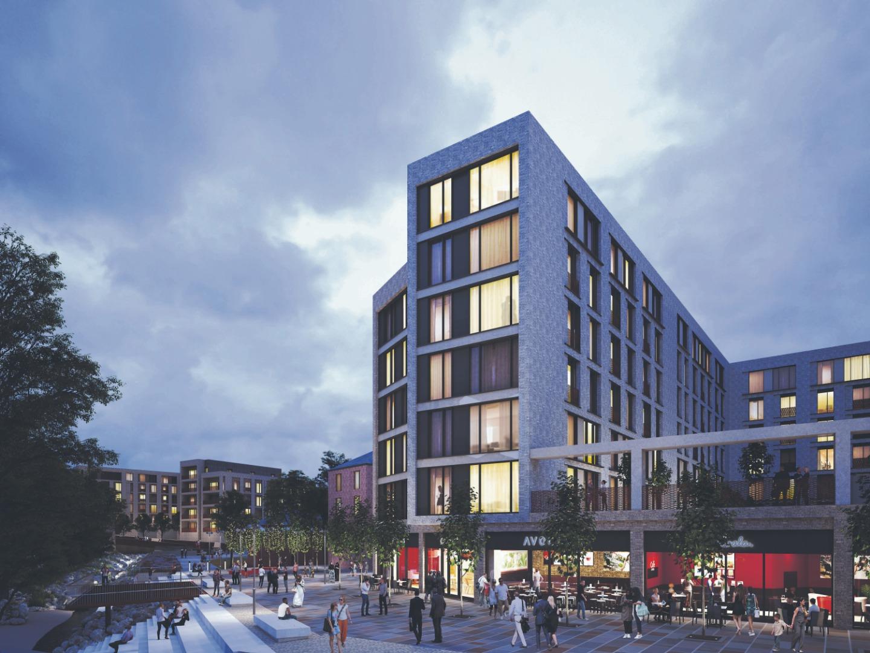 The £150m Church Wharf scheme could see a new hotel built
