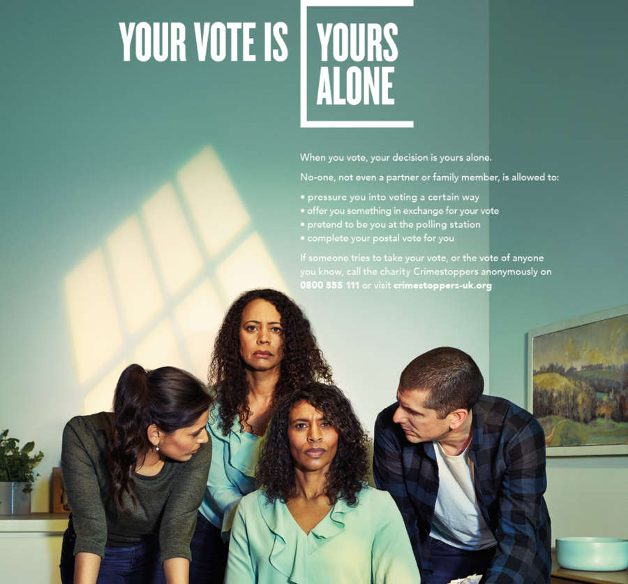 'Your vote is yours alone' – protect it at May's local elections