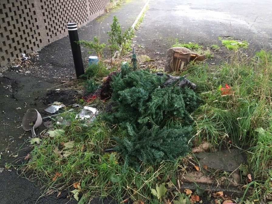 Flytippers fined thousands